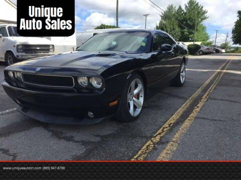2010 Dodge Challenger for sale at Unique Auto Sales in Knoxville TN