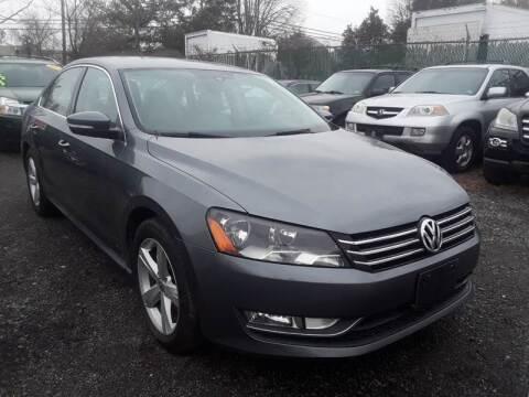 2015 Volkswagen Passat for sale at M & M Auto Brokers in Chantilly VA