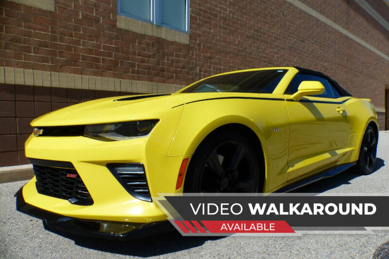 2018 Chevrolet Camaro for sale at Macomb Automotive Group in New Haven MI