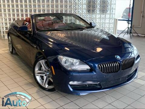 2012 BMW 6 Series for sale at iAuto in Cincinnati OH