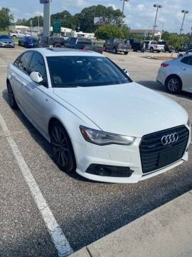 2017 Audi A6 for sale at JOE BULLARD USED CARS in Mobile AL