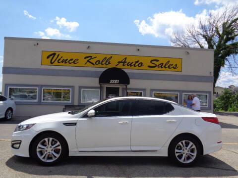 2013 Kia Optima for sale at Vince Kolb Auto Sales in Lake Ozark MO