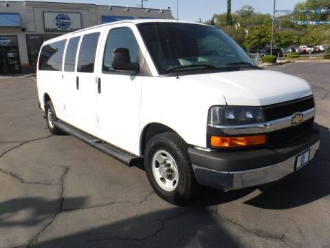 2015 Chevrolet Express Passenger for sale at Platinum Auto Sales in Provo UT