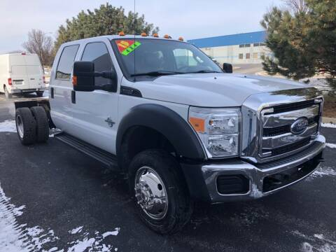 2015 Ford F-550 Super Duty for sale at Ryan Motors in Frankfort IL