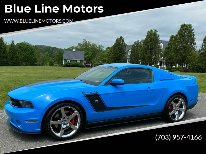 2010 Ford Mustang for sale at Blue Line Motors in Winchester VA