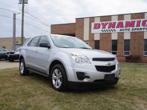 2014 Chevrolet Equinox for sale at DYNAMIC AUTO SPORTS in Addison IL