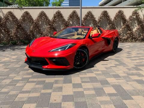 2021 Chevrolet Corvette for sale at ROGERS MOTORCARS in Houston TX