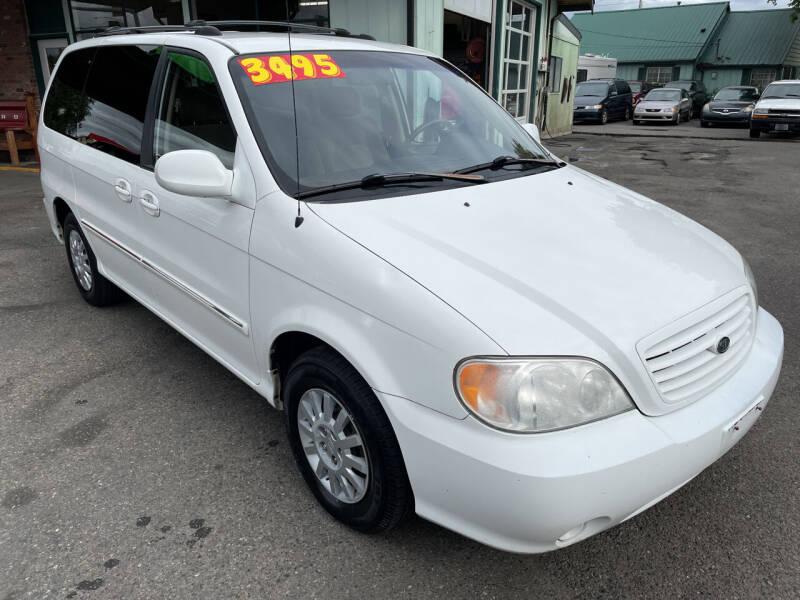 2003 Kia Sedona for sale at Low Auto Sales in Sedro Woolley WA