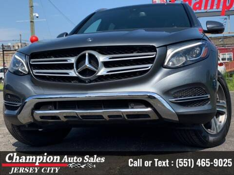 2018 Mercedes-Benz GLC for sale at CHAMPION AUTO SALES OF JERSEY CITY in Jersey City NJ