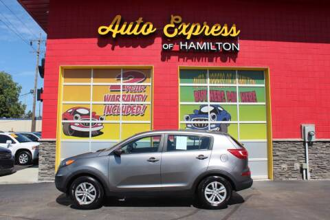 2011 Kia Sportage for sale at AUTO EXPRESS OF HAMILTON LLC in Hamilton OH