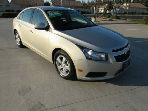 2014 Chevrolet Cruze for sale at Repeat Auto Sales Inc. in Manteca CA
