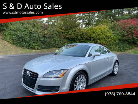 2008 Audi TT for sale at S & D Auto Sales in Maynard MA