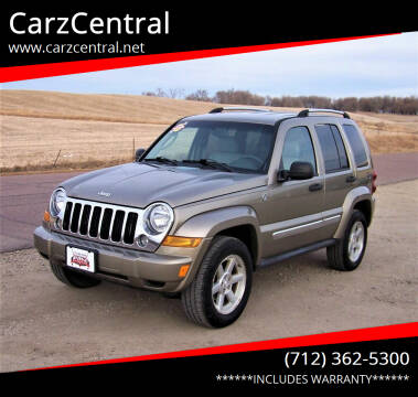2006 Jeep Liberty for sale at CarzCentral in Estherville IA