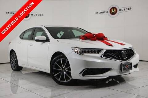 2018 Acura TLX for sale at INDY'S UNLIMITED MOTORS - UNLIMITED MOTORS in Westfield IN