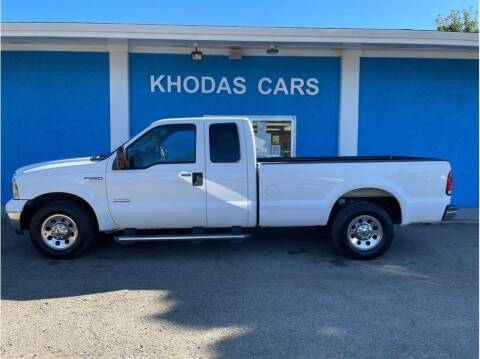 2005 Ford F-250 Super Duty for sale at Khodas Cars in Gilroy CA