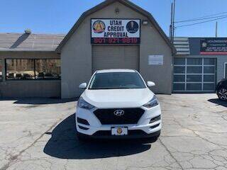 2020 Hyundai Tucson for sale at Utah Credit Approval Auto Sales in Murray UT