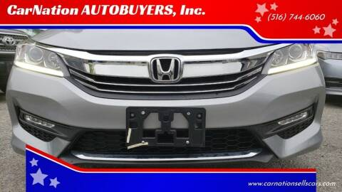 2016 Honda Accord for sale at CarNation AUTOBUYERS Inc. in Rockville Centre NY