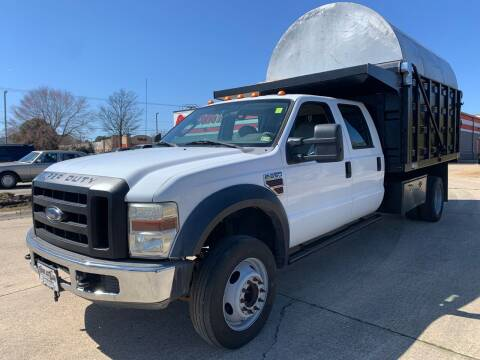 2008 Ford F-550 Super Duty for sale at TOWNE AUTO BROKERS in Virginia Beach VA