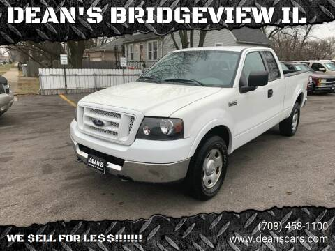 2004 Ford F-150 for sale at DEANSCARS.COM in Bridgeview IL