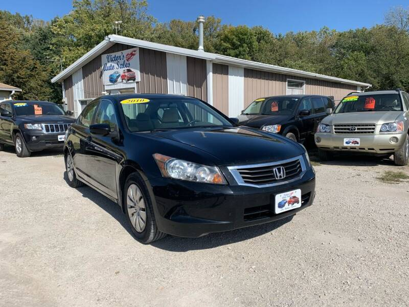 2010 Honda Accord for sale at Victor's Auto Sales Inc. in Indianola IA