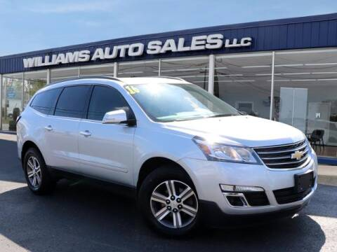2016 Chevrolet Traverse for sale at Williams Auto Sales, LLC in Cookeville TN