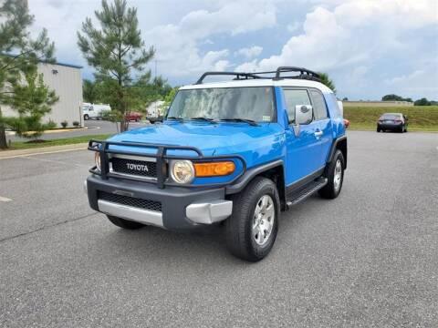 2007 Toyota FJ Cruiser for sale at Apex Autos Inc. in Fredericksburg VA