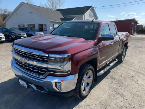 2017 Chevrolet Silverado 1500 for sale at Evia Auto Sales Inc. in Glens Falls NY
