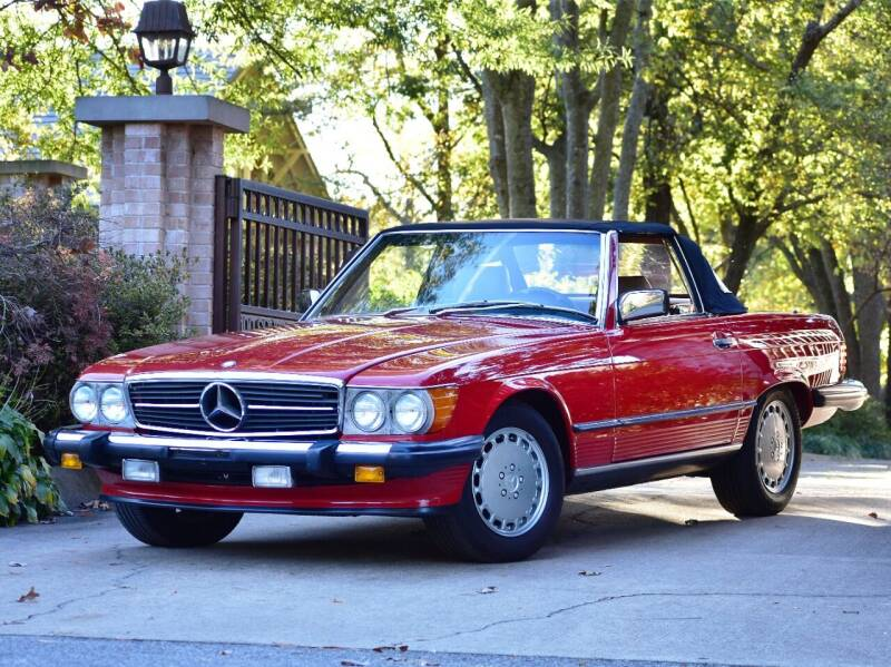 1987 Mercedes-Benz 560-Class for sale at Ehrlich Motorwerks in Siloam Springs AR