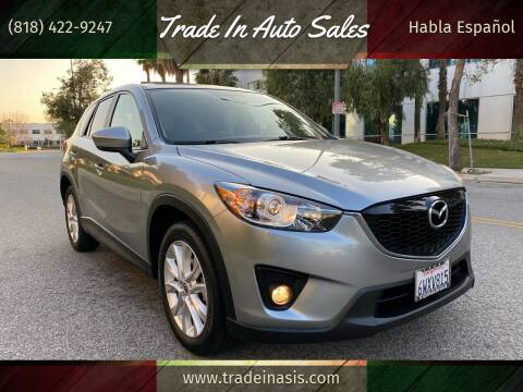 2013 Mazda CX-5 for sale at Trade In Auto Sales in Van Nuys CA