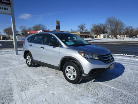 2013 Honda CR-V for sale at Padgett Auto Sales in Aberdeen SD