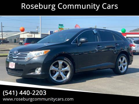 2009 Toyota Venza for sale at Roseburg Community Cars in Roseburg OR