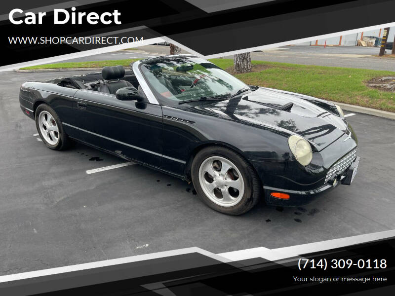 2002 Ford Thunderbird for sale at Car Direct in Orange CA