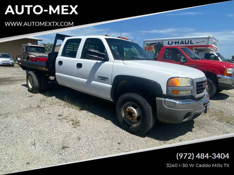 2006 GMC Sierra 3500 for sale at AUTO-MEX in Caddo Mills TX