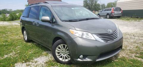 2012 Toyota Sienna for sale at Sinclair Auto Inc. in Pendleton IN