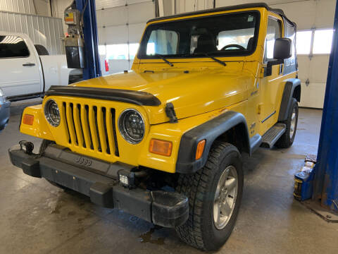 2004 Jeep Wrangler for sale at Blake Hollenbeck Auto Sales in Greenville MI