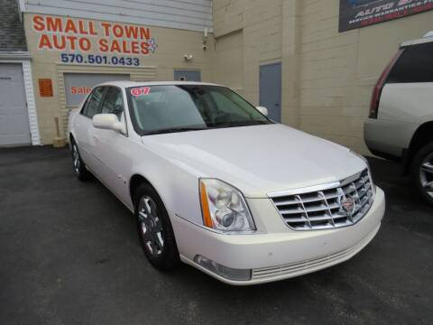 2007 Cadillac DTS for sale at Small Town Auto Sales in Hazleton PA