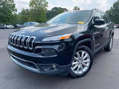 2017 Jeep Cherokee for sale at iDeal Auto in Raleigh NC