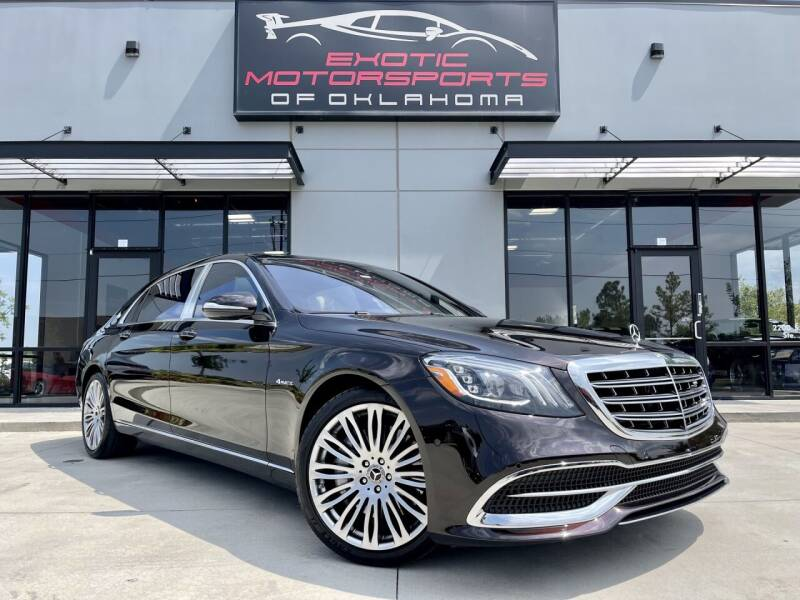 2018 Mercedes-Benz S-Class for sale at Exotic Motorsports of Oklahoma in Edmond OK