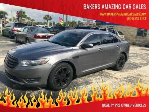 2013 Ford Taurus for sale at Bakers Amazing Car Sales in Jacksonville FL