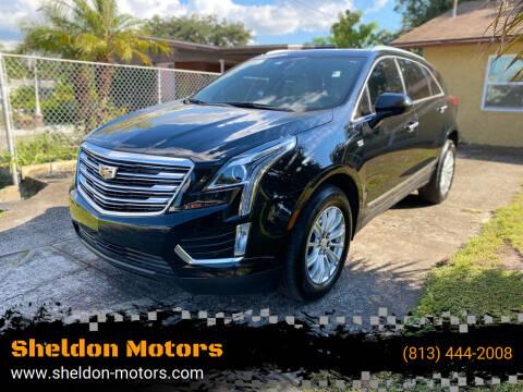 2018 Cadillac XT5 for sale at Sheldon Motors in Tampa FL