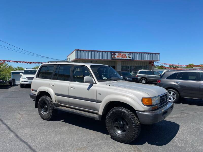 1997 Toyota Land Cruiser for sale at FIESTA MOTORS in Hagerstown MD