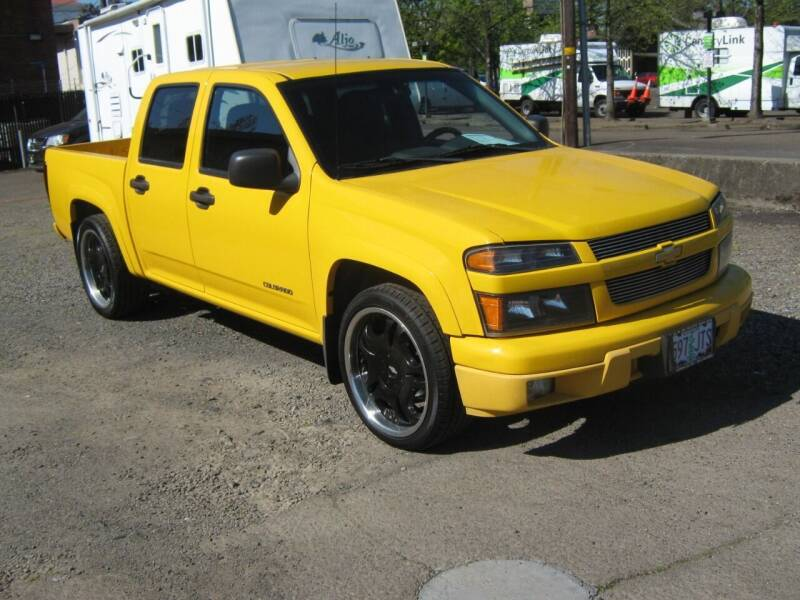 2004 Chevrolet Colorado for sale at D & M Auto Sales in Corvallis OR