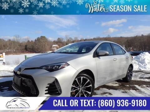 2017 Toyota Corolla for sale at EAGLEVILLE MOTORS LLC in Storrs CT