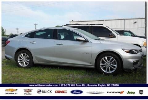 2018 Chevrolet Malibu for sale at WHITE MOTORS INC in Roanoke Rapids NC