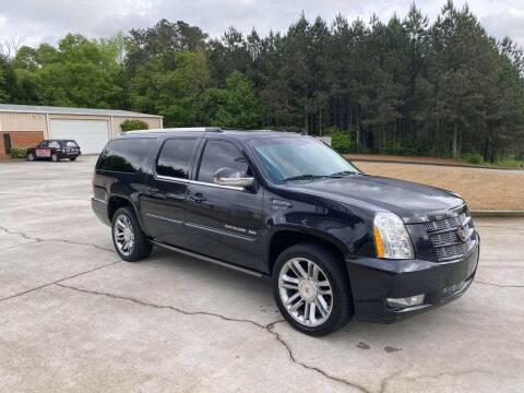 2013 Cadillac Escalade ESV for sale at Two Brothers Auto Sales in Loganville GA