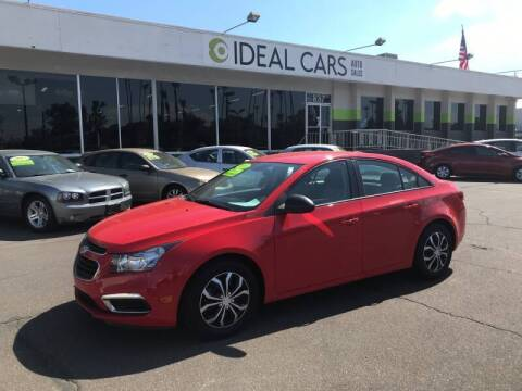 2016 Chevrolet Cruze Limited for sale at Ideal Cars East Main in Mesa AZ