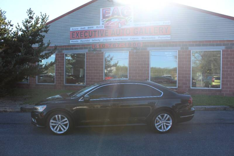 2018 Volkswagen Passat for sale at EXECUTIVE AUTO GALLERY INC in Walnutport PA