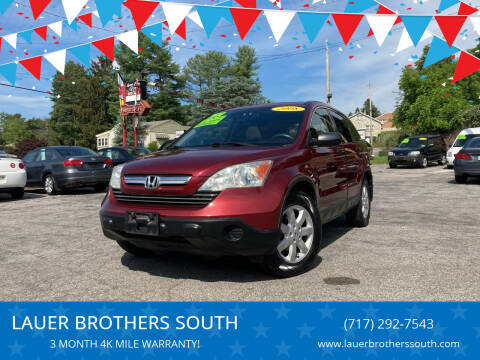 2008 Honda CR-V for sale at LAUER BROTHERS SOUTH in York PA