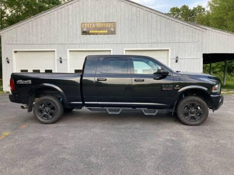 2018 RAM Ram Pickup 2500 for sale at Cella  Motors LLC in Auburn NH