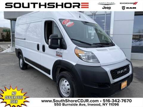 2019 RAM ProMaster Cargo for sale at South Shore Chrysler Dodge Jeep Ram in Inwood NY